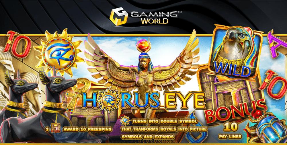 Horus Eye Banner